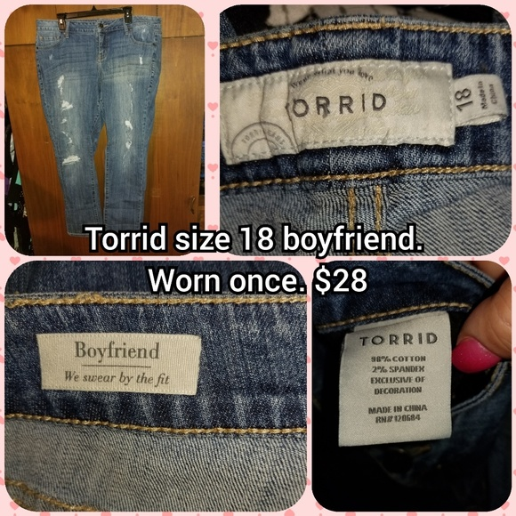 torrid Denim - Torrid size 18 boyfriend